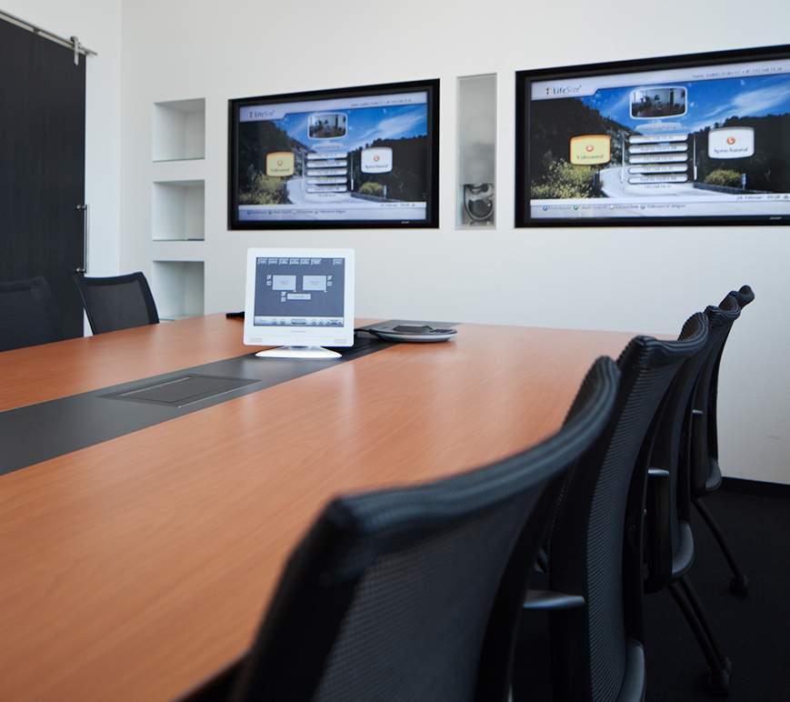 Eine Referenz der Aveo Konferenzsysteme GmbH